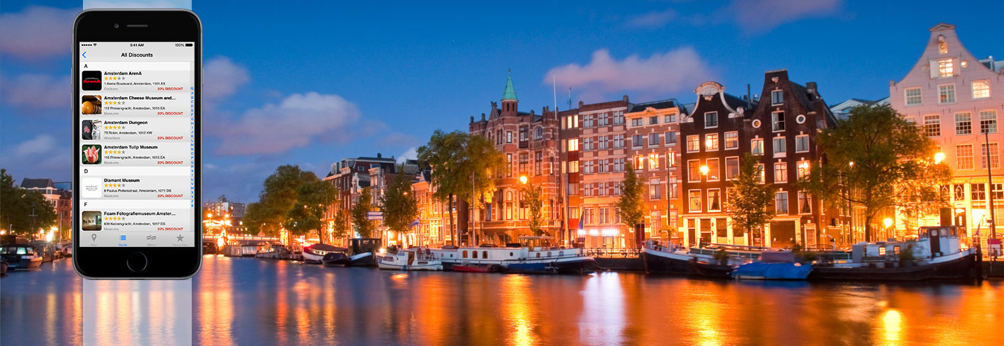 amsterdam for less travel app