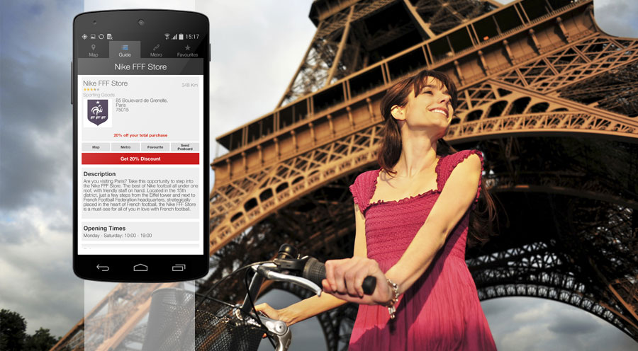 paris for less travel app